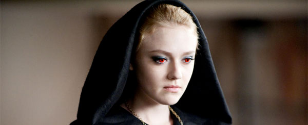 Dakota Fanning as Jane in Twilight: Eclipse