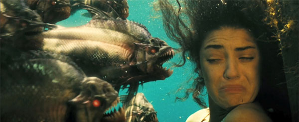 Win a Bite of Piranha on DVD!