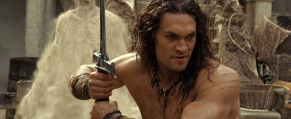Conan the Barbarian Draws Blood, Bad Review on Blu-ray
