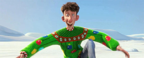 Arthur Christmas Movie Review