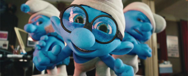 The Smurfs Scurry Onto DVD, a Movie Review
