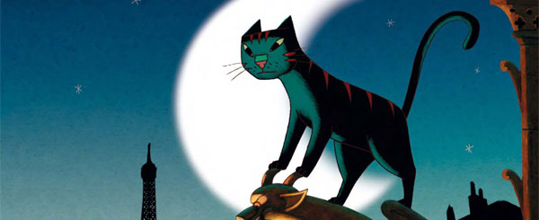 Review: 'A Cat in Paris' is Worth Nine Lives