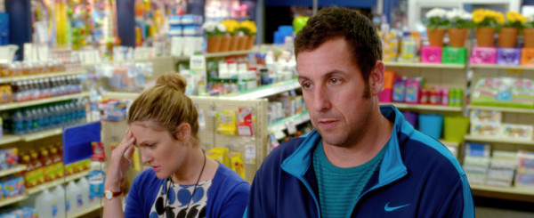 'Blended' Review: Barrymore Saves Sandler