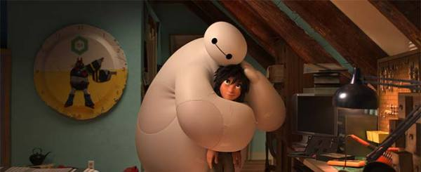 Big Hero 6 Review: Lovable, Inflatable Robots Sell