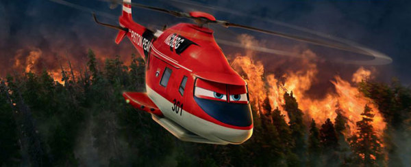 A 3-Year Old Reviews Disney's Planes: Fire and Rescue