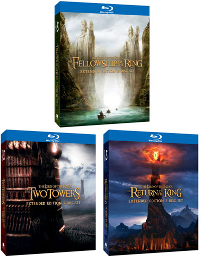 The Lord of the Rings Extended Edition Blu-rays Contest and