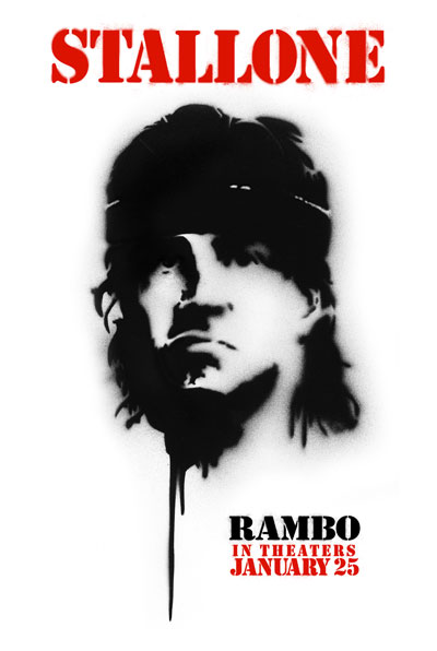Rambo Outdoor Poster