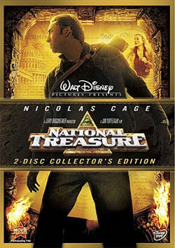 National Treasure 2-Disc DVD