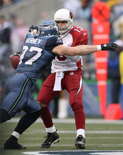 Seattle Seahawks vs. Arizona Cardinals - Kierney crushes Warner