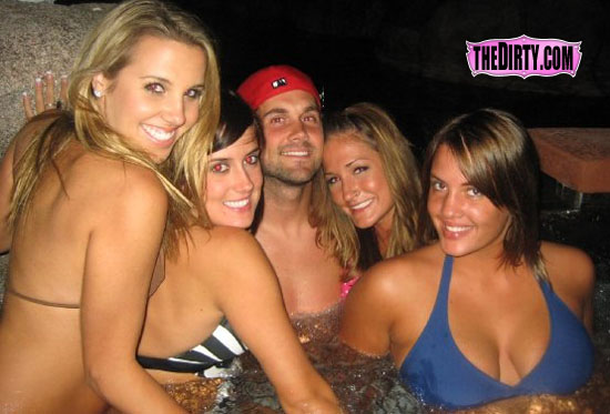 Matt Leinart Hot Tub Girls