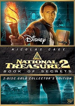 National Treasure 2 DVD Cover