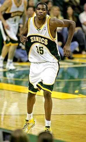 Kevin Durant Supersonics