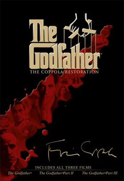 Godfather Trilogy DVD cover