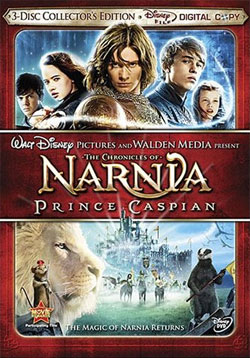 Prince Caspian DVD cover