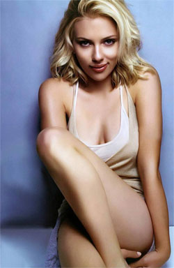 Scarlett Johnasson is hotter than Mickey Rourke