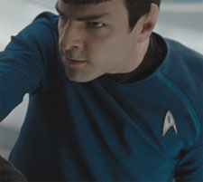 Spock: You wouldn't like me when I'm angry