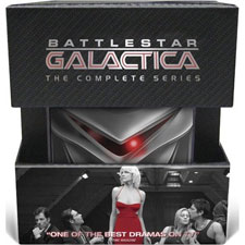 Battlestar Galactica: The Complete Series DVD set