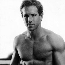 Ryan Reynolds is shirtless