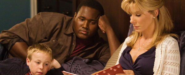 The Blind Side, starring Sandra Bullock