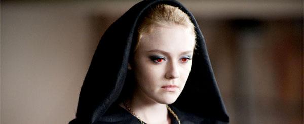 Dakota Fanning as Jane in Twilight: Eclipse