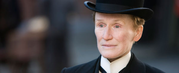 Glenn Close is Albert Nobbs, and Trailer to Prove It