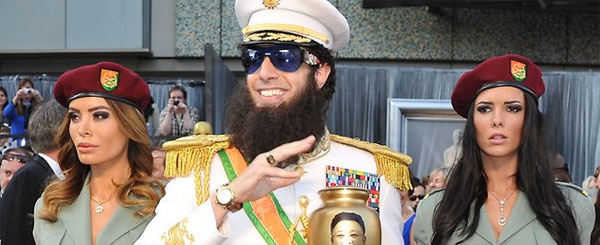 The Dictator Says You Should Watch His Movie