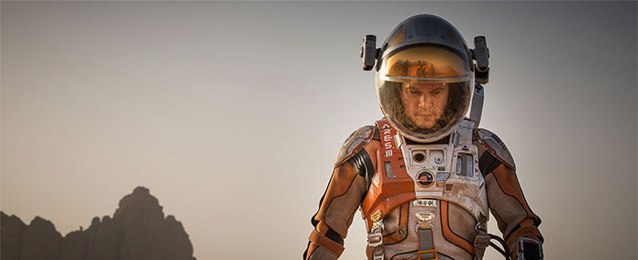 'The Martian' Launches Onto Blu-ray