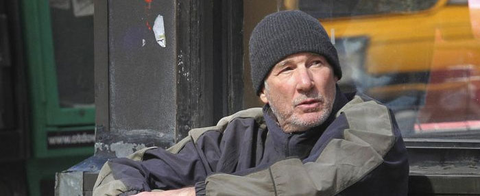 Richard Gere Goes Homeless for 'Time Out of Mind'