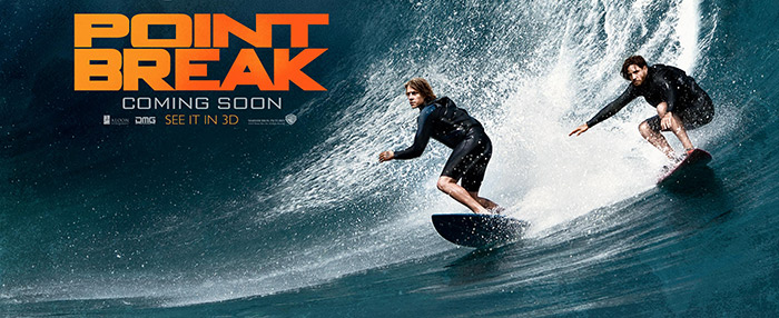 Find Your Breaking Point with These 'Point Break' Featurettes