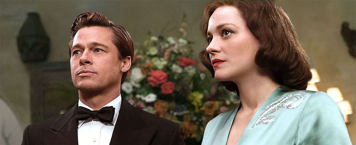 Pitt, Cotillard Sizzle in War Thriller 'Allied'