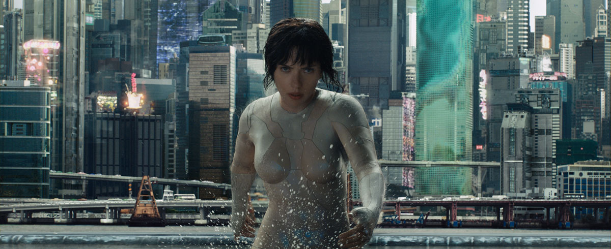 Watch the New 'Ghost in the Shell' Trailer!