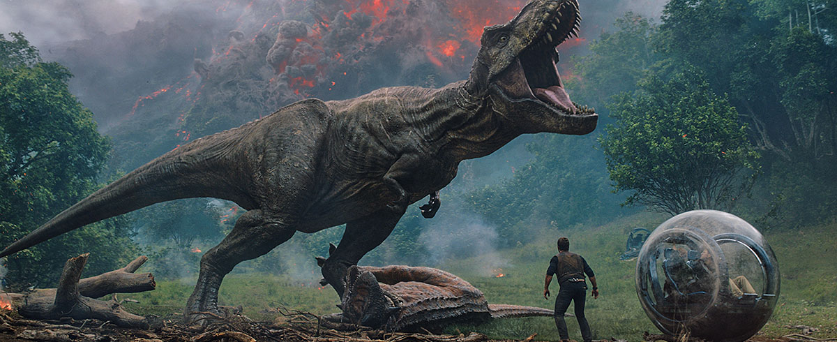 Now on Blu-ray: 'Jurassic World: Fallen Kingdom'