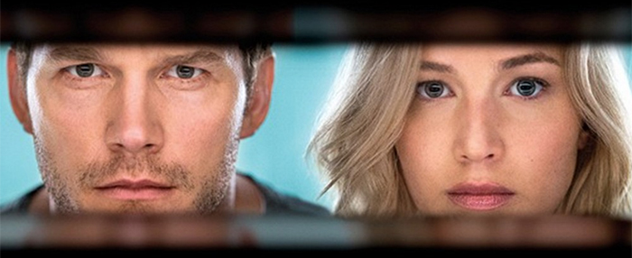 Pratt, Lawrence Heat Space Up in 'Passengers' Trailer