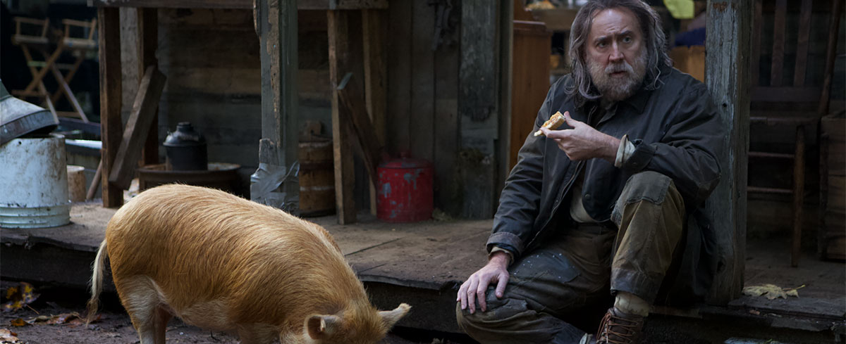 Hamfisted 'Pig' Made for Cinephiles, Not Bacon-Loving Masses