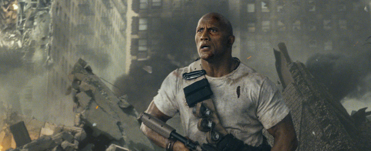 On Blu-ray: 'Rampage' is Like a Fine Wine