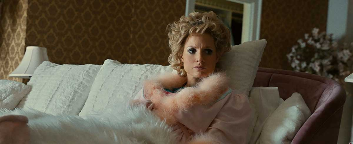 That's Jessica Chastain in 'The Eyes of Tammy Faye'?