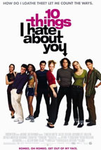 10 Things I Hate About You movie poster