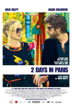 2 Days in Paris movie poster