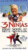 3 Ninjas: High Noon at Mega Mountain movie poster