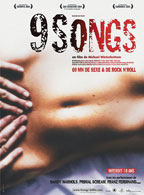 9 Songs movie poster