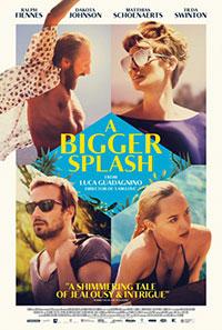 A Bigger Splash movie poster