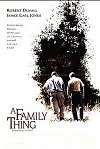 A Family Thing movie poster