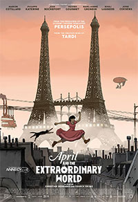 April and the Extraordinary World movie poster