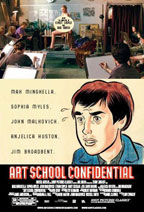 Art School Confidential movie poster