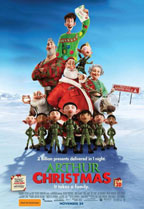 Arthur Christmas preview