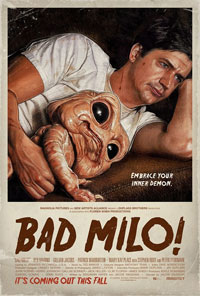 Bad Milo movie poster