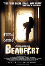 Beaufort movie poster