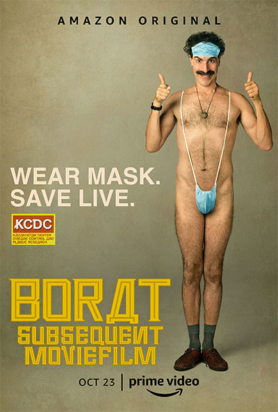 Borat Subsequent Moviefilm movie poster