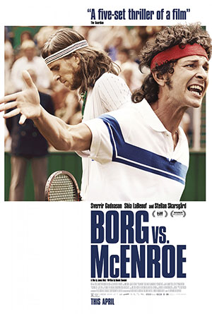 Borg vs. McEnroe movie poster