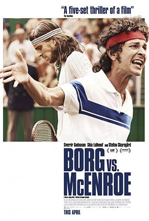 Borg vs. McEnroe movie poster